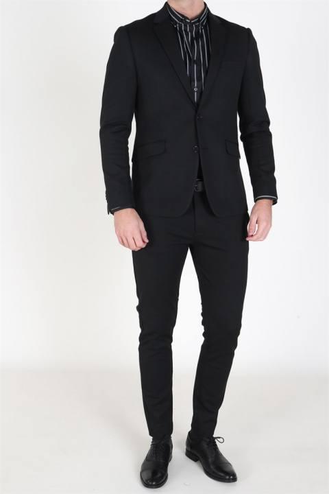 Clean Cut Milano Jersey Pants Black