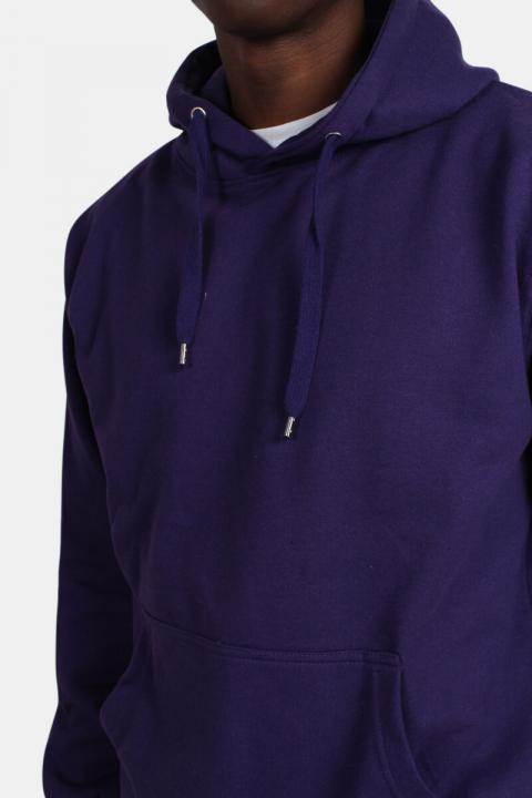 Basic Brand Hooded Sweat Violet