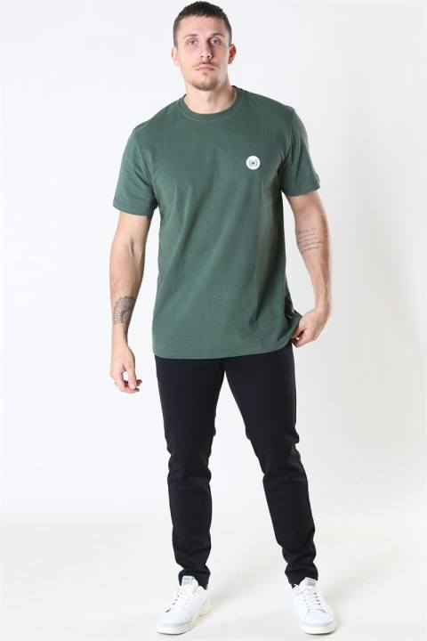 Woodbird Our Jarvis Patch T-shirt Army