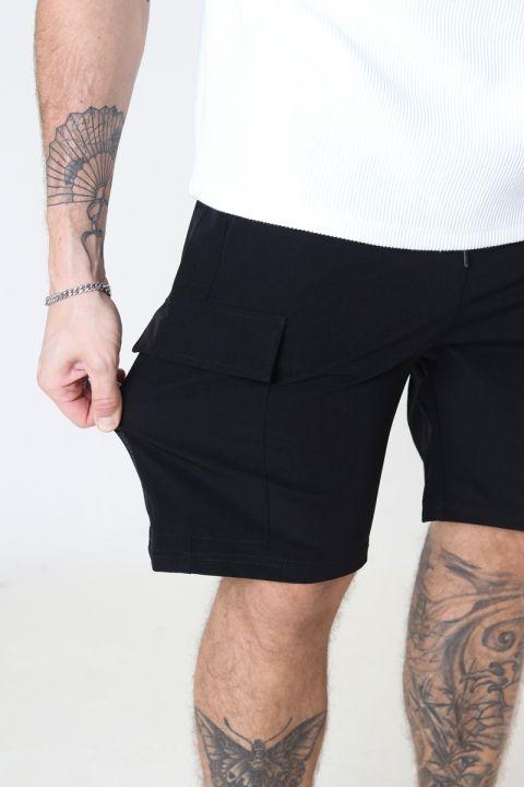 Just Junkies Oliver Shorts 0101- Black/black