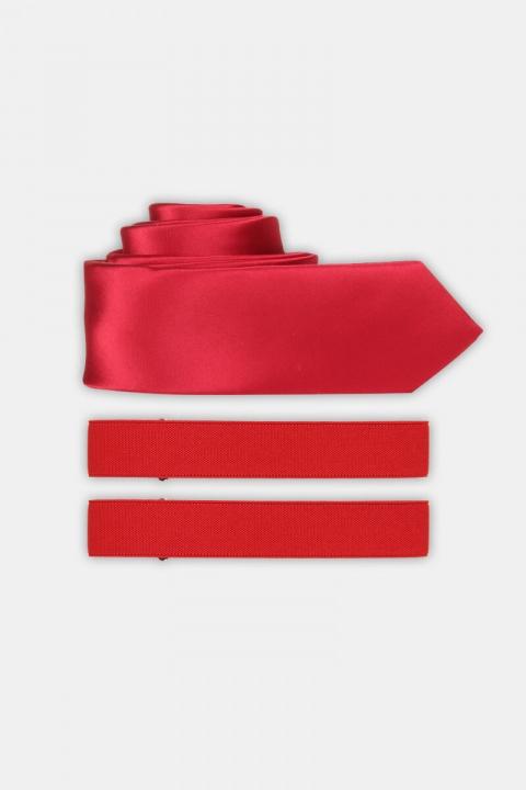 Køb Slips & Armband Red