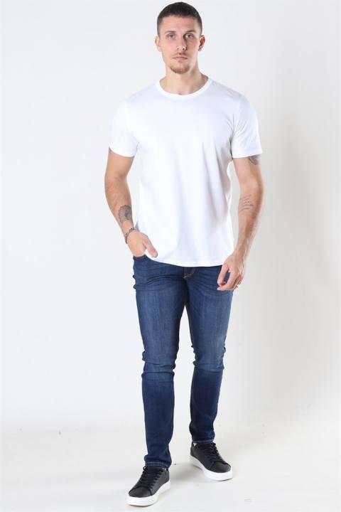 Mos Mosh Perry Basic T-shirt White
