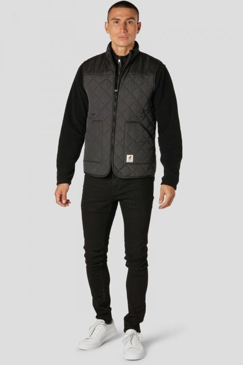 Fat Moose Jensen Recycled Vest Black