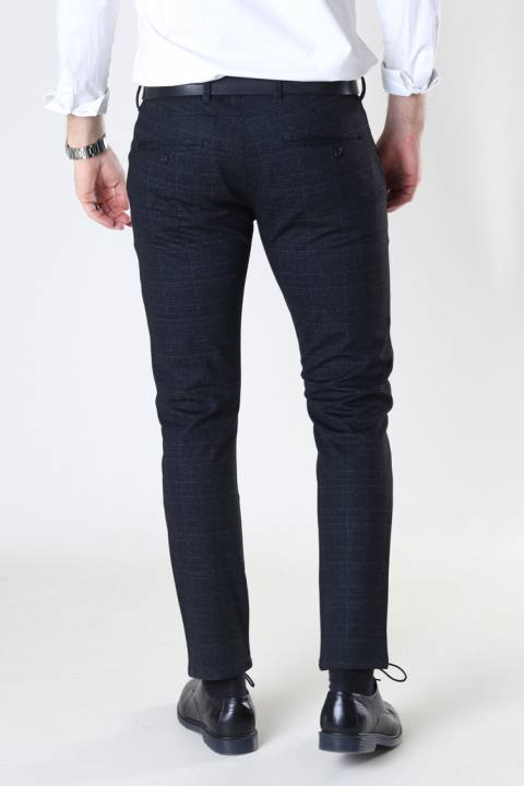 Gabba Paul KD3920 Black Shadow Check Pant Black Check