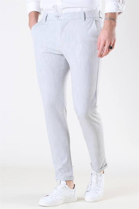 Les Deux Como Light Suit Pants Snow Melange