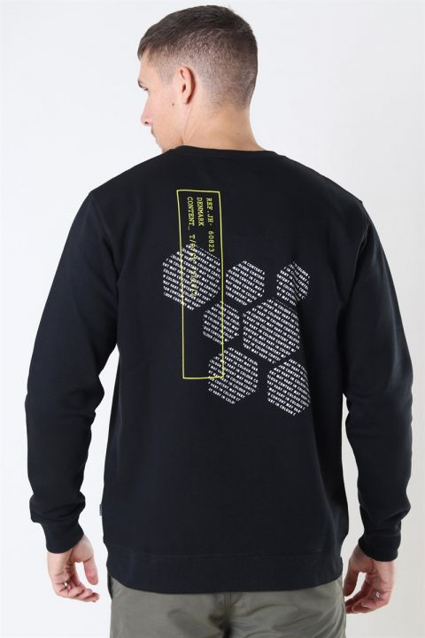 Solid Mihal Sweat Black