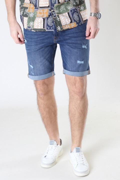 Jack & Jones Jjirick Jjoriginal Shorts Agi 006 Blue Denim