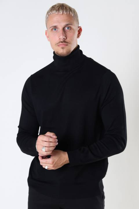 ONLY & SONS ONSWYLER LIFE ROLL NECK KNIT NOOS Black