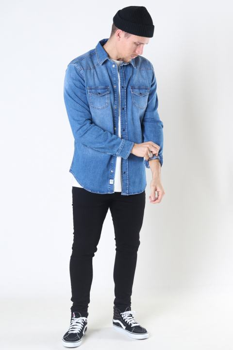 Gabba Ron K3957 Denim Shirt RS1378