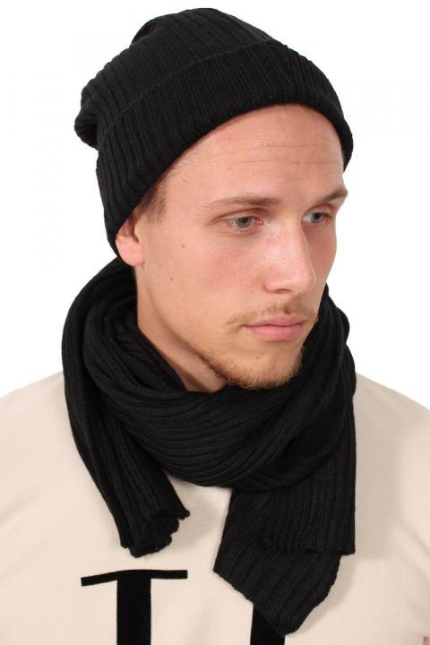 Køb Urban Classics Hue Tørklæde Sæt Black