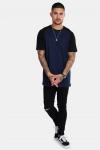 Basic Brand Raglan T-shirt Blue Navy/Black