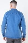 Denim Project Denim Over Jakke Medium Blue