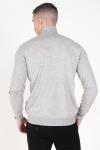 Only & Sons Mikkel 12 Rullekrave Strik Light Grey Melange