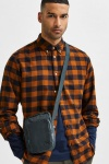 Selected SLHSLIMFLANNEL SHIRT LS W NOOS Monks Robe Box