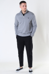 Fred Perry Half Zip  Sweatshirt Steel Marl