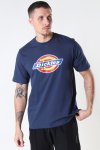 DICKIES ICON LOGO TEE NAVY BLUE