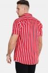 Kronstadt Cuba S/S Gr.81 Skjorte Red/White/Blue