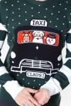 Only & Sons Xmas 7 Stripe Front Strik Pine Grove