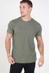 Kronstadt Basic T-shirt Moos