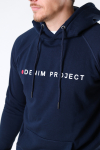 Denim project Logo Hoodie 182 Total Eclipse