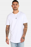 Only & Sons Matt Longy SS T-shirt White