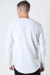 Only & Sons Elgin Life Longy LS T-shirt Oatmeal