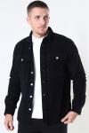 Just Junkies Hagdi Corderoy Overshirt Black