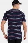 Only & Sons Leonard Stripe SS T-shirt Majolica Blue