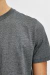 Selected SLHNORMAN180 MINI STRIPE SS TEE W NOOS Black Light Grey