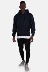 Basic Brand Hooded Sweat Blue Navy