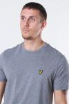Lyle & Scott Crew Neck T-shirt Mid Grey Marl