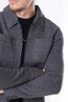 Jack & Jones Dawn Sweat Jakke Grey Melange