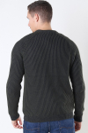 Only And Sons Rato 5 Struc Raglan Crew Strik Forest Night