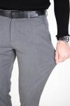 Tailored & Originals Fred Pants Medium Grey Melange