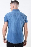 Jack & Jones Sheridan Skjorte S/S Medium Blue Denim