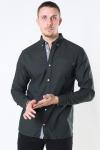 Jack & Jones Classic Soft Oxford Skjorte LS Olive Night