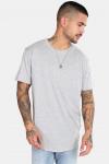 Only & Sons Matt Longy SS T-shirt Noos Light Grey Mel