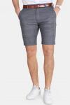 Gabba Jason Chino Shorts English Grey Check