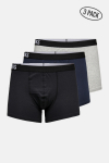 ONLY & SONS ONSFITZ SOLID COLOR TRUNK 3 PACK Black BLACK + MGM + DARK NAVY