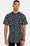 Vans All Over Distorted SS Black T-shirt