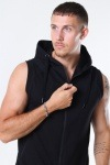 Basic Brand Sport Hoodie Zip SL Black