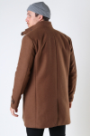 Jack & Jones JPRBLAMELTON WOOL COAT SN Dark Coat Khaki