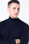 Clean Cut Merino Wool Roll Strik Navy
