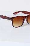Fashion 1604 WFR Brown Havana Solbrille Brown Gradient