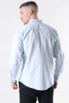 Clean Cut Cotton Linen Skjorte Sky Blue