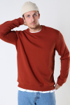 ONLY & SONS ONSCERES LIFE CREW NECK NOOS Burnt Henna