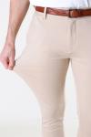 Denim Project Ponte Roma Plain Pants Humus
