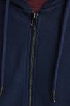 Jack & Jones JJEBASIC SWEAT ZIP HOOD NOOS Navy Blazer REG