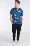 Only & Sons Leif SS AOP T-shirt Parrot