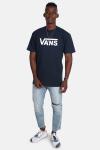 Vans Classic T-shirt Navy/White